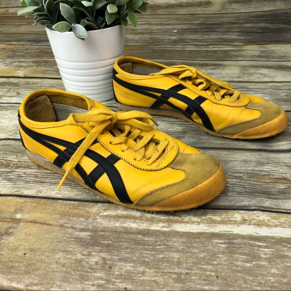 onitsuka tiger mexico 66 black blue zebra yellow
